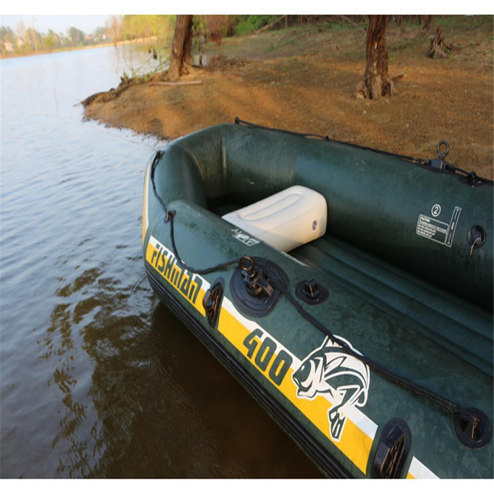 Монтажная ПВХ надувная легкая воздушная подушка сиденье для надувного Каяка сиденье для рыбацкой лодки Подушка рафтинг пляж 56*27*15 см