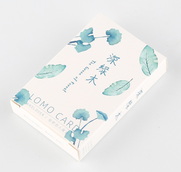 52mm*80mm Dark Forest Paper Greeting Card Lomo Card(1pack=28pieces)