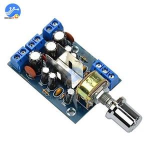 TEA2025B Mini Audio Amplifier Board Dual Stereo 2.0 Channel Amplifier Board For PC Speaker 3W+3W 5V 9V 12V CAR