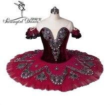 Dziewczęca morwa łabędź jezioro balet kostiumy czerwona baletowa spódniczka tutu dorosła profesjonalna baletowa spódniczka tutu balet kostiumy performanceBT8992