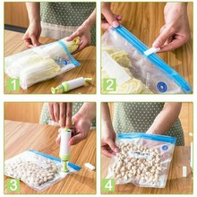 лучшая цена 18Pcs/Set Kitchen Food Vacuum Bag   For Vacuum Sealer Food Fresh Long Keeping Supplies Kitchen Accessories