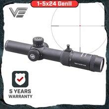 Vector Optics mira telescópica GenII Forester 1 5x24, centro, punto iluminado, mira suave de aire, Rifle de caza, alcance de pistola de aire AR15