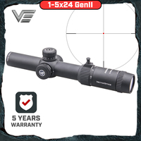 Vector Optics GenII Forester 1 5x24 Riflescope Center Dot Illuminated Air Soft Scope Hunting Rifle Scope Air Gun AR15 Scope