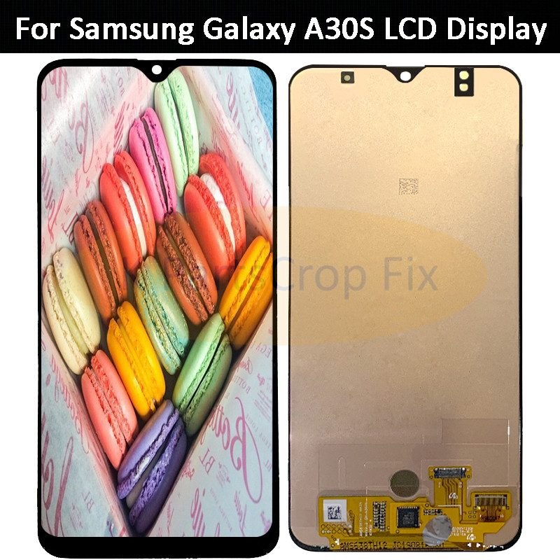 Super AMOLED for Samsung Galaxy A30S LCD Display With Touch Screen Digitizer Assembly  for SAMUSNG A307F A307FN A307G A307GN LCD-in Mobile Phone LCD Screens from Cellphones & Telecommunications    1
