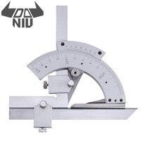 DANIU Универсальный транспортир 0-320/360 градусов Гониометр угол измерительный прибор линейка инструмент деревообрабатывающий измерительный и...
