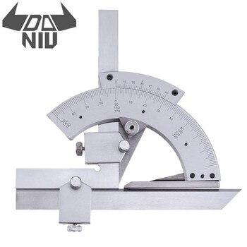 DANIU Universele Gradenboog 0-320/360 Graden Goniometer Hoek Meten Finder Ruler Tool Houtbewerking Meetinstrument
