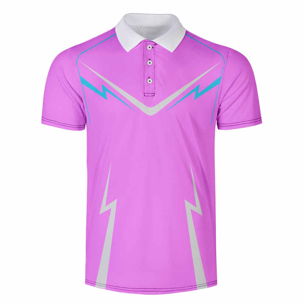 Wamni Merk Sneldrogend Tennis Harajuku Zwart 3D Polo Shirt Sport Losse Streep Toevallige Mannelijke Streetwear Polo-Shirt Trainingspak