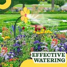 Garden Sun Flower Sprinkler Plastic Sprinkler Garden Plant Watering Watering Irrigation Garden Work Tool Decorative Sprinkler