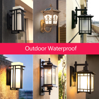 led outdoor lighting Europe type wall light outside light with led balcony light E27 lamp