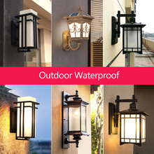 led outdoor lighting Europe type wall light outside light wi