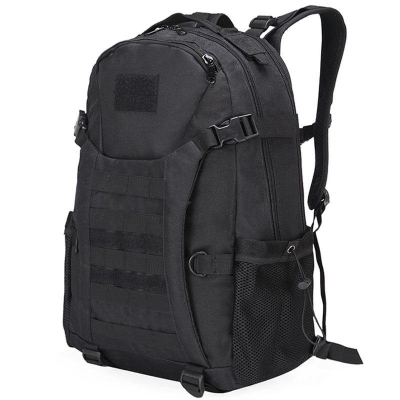 50L Camping Rucksack Sports Camping Backpack Bags Waterproof Backpacks Trekking Hiking Outdoor Shoulder Bag Black