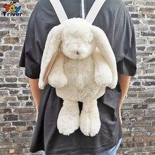 Белый Кролик Рюкзак Японский Каваи кролик школьная сумка плюшевая игрушка Дети Девочка Девушка День рождения Рождественский подарок