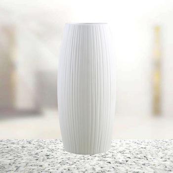 Nowoczesny minimalistyczny ceramiczny wazon styl skandynawski kreatywny Trapezoid suchy kwiatowy pojemnik doniczka ozdoby do dekoracji domu dla Flo tanie i dobre opinie CN (pochodzenie)