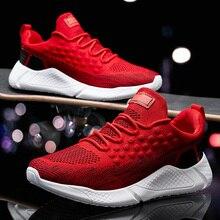 Sneakers Heren Zomer Schoenen 2019 Nieuwe Plus Size 39 46 Comfortabele Mannen Casual Schoenen Mesh Ademend Loafers Flats schoenen Schoeisel