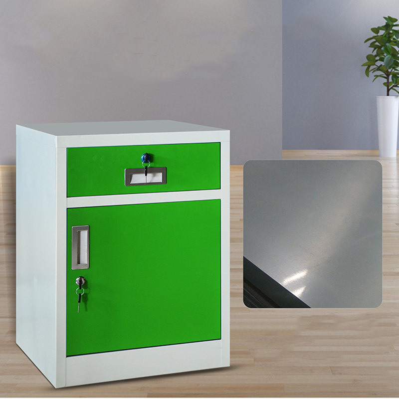Steel File Cabinet With Lock, Low Cabinet, Storage File Cabinet, Iron Sheet Cabinet, Small Cabinet, Table, Bed Head Cabinet