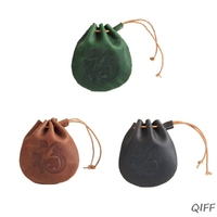 Women Cute Wallet Coin Bag Case Leather Drawstring Pocket Small Handbag Purse