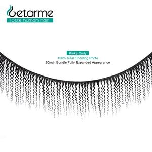 Image 2 - Gemarme extensiones de cabello humano rizado 13x4 con cierre Frontal de encaje, cabello humano Remy brasileño, con mechones