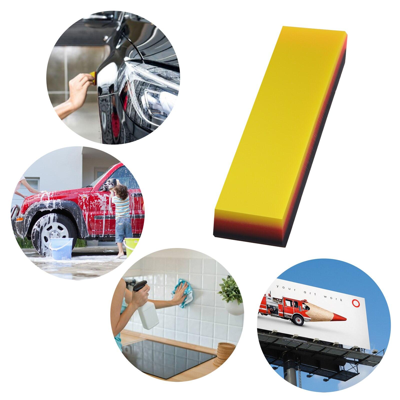 Image 2 - FOSHIO 탄소 섬유 자석 스틱 스퀴지 비닐 랩 자동차 도구 세트 자동 창 색조 도구 필름 설치 스티커 포장 스크레이퍼스크레이퍼   -