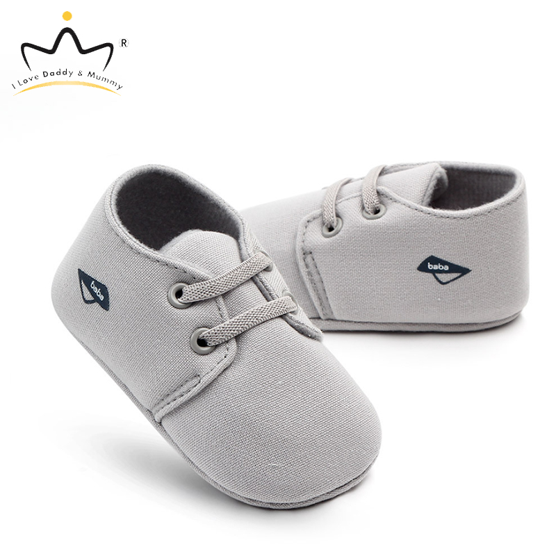 Spring Summer New Solid Color Soft Cotton Baby Boy Shoes Boys Casual Sneakers Toddler Shoes