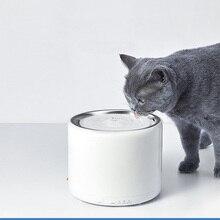 Led-Light-Indicator Water-Fountain Smart-Pet PETKIT Stainless-Steel Off-Pump Auto-Shut