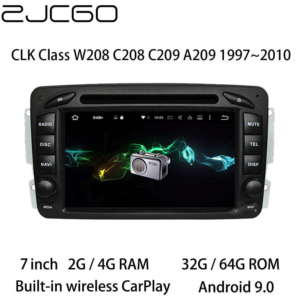 <font><b>Car</b></font> Multimedia Player Stereo <font><b>GPS</b></font> DVD <font><b>Radio</b></font> Navigation Android <font><b>Screen</b></font> for <font><b>Mercedes</b></font> Benz CLK Class <font><b>W208</b></font> C208 C209 A209 1997~2010 image