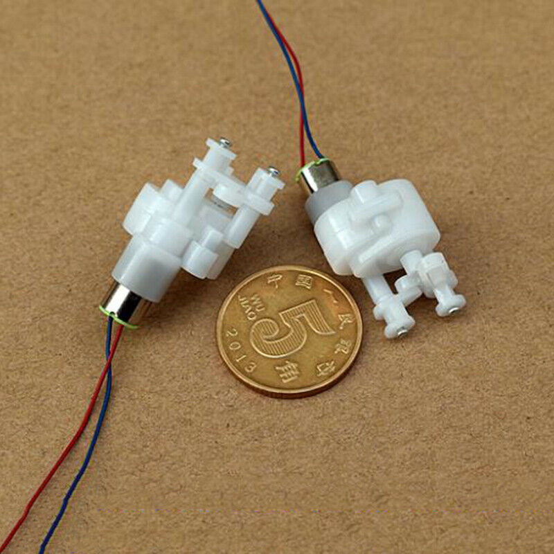 Mini 610 reciprocating motor Gear motor DC3.7V-7.4V  360RPM-720RPM  6mm*10mm Coreless Gear Motor Swing Arm DIY Toy Train Wheel