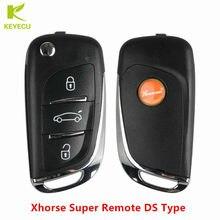 KEYECU XHORSE (Englisch Version) universal Super Remote DS Typ Unterstützung für 4C 4D 4E 8C 8A 48 8E 7935 7936 7938 Chips XEDS01EN