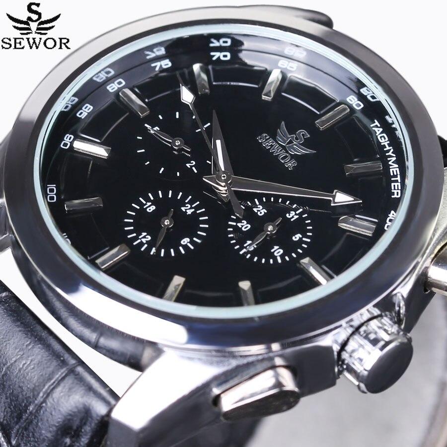 Купить часы наручные sewor мужские механические модные спортивные автоматические