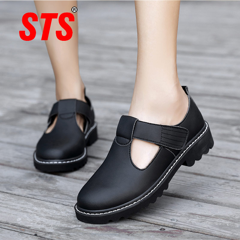 STS Women's Casual Shoes Women Flats Sneaker Shallow Casual Shoes Ladies Mesh Breathable Women Shoes Light Trainers Mary Janes