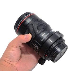 Image 4 - IShoot 렌즈 칼라 삼각대 마운트 링 Canon EF 100mm f/2.8 L IS USM 매크로 교체 렌즈지지 브래킷 Canon D(B) IS C100L