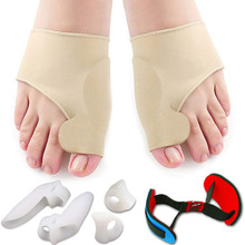 цены 7Pcs/Set Bunion Corrector and Bunion Pain Relief Kit, Toe Separators Spacers Straighteners for Men and Women- Hammer Toe Hallux