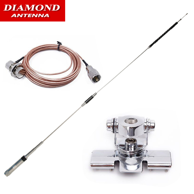 Diamond CR8900 Quad Band 29.6/50.5/144/435MHz Car Antenna CR 8900 for Yaesu FT 8900R KG UV950P TH 9800 Plus Car Mobile Radio