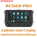 RCD410 PRO Android Auto Carplay Новый NONAME RCD330 RCD360 PRO MIB радиоприемник для VW Golf 5 6 Jetta MK5 MK6 CC Tiguan Passat B6 B7 Polo