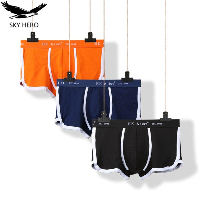 3 adet/grup Boxer erkek pamuklu iç çamaşırı erkek külot nefes boxershorts sıcak termal tasarımcı erkek külot artı boyutu S-XXXXL