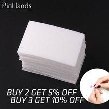 100pcs lint free nail wipes napkin for manicure gel polish removal