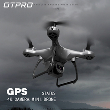 OTPRO GPS mini Drone FPV with 4k 1080p Profissional Camera Wifi RC Drones Selfie Follow Me Quadrocopter Toys Boy vs HS120D