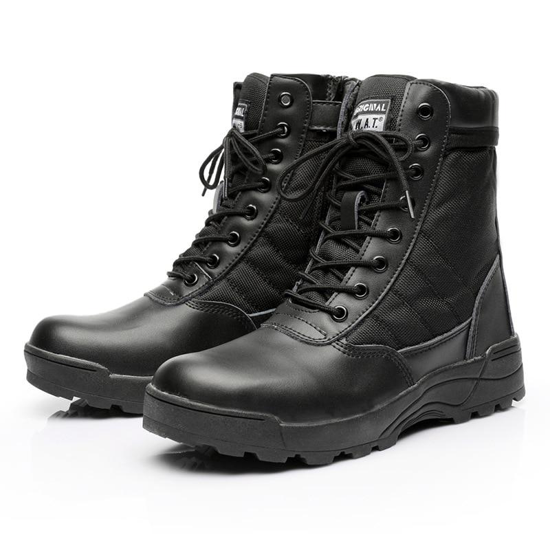 Fabricants vente directe en plein air bottes tactiques Fans de l'armée bottes de randonnée désert anti-dérapant bottes de Combat haut-haut désert bottes