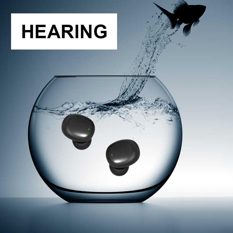 Stereo słuchawki wyświetlacz mocy Sport Stereo bezprzewodowe z mikrofonem do iphone XR X 8 7