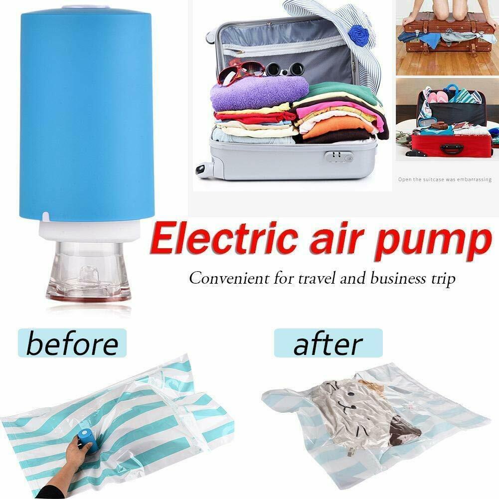 Household Automatic Compression Vacuum Pump Electric Vacuum Sealer Pump For Clothes Quilt Food