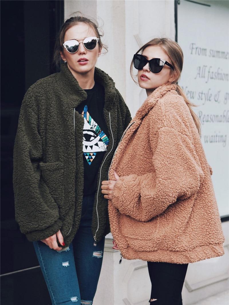H6a6b6754e4fa4e16be2de362008097ebg Autumn Winter Faux Fur Coat Women 2020 Casual Warm Soft Zipper Fur Jacket Plush Overcoat Pocket Plus Size Teddy Coat Female XXXL