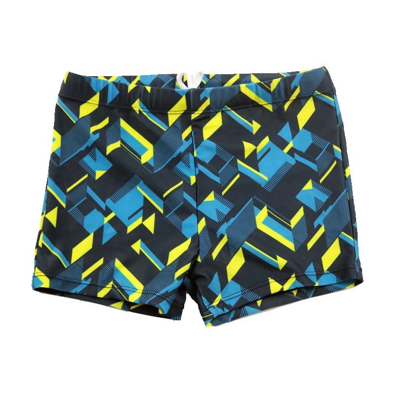 Kid Children Boys Print Stretch Beach Swimsuit Swimwear Pants Shorts Briefs Summer Swim Beach Quick-dry Trunks Maillot De Bain