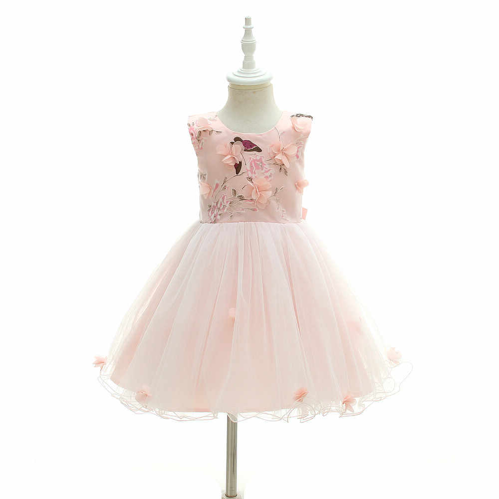 Flower Baby Girl Party and Wedding Dresses 7nd 7st Birthday Butterfly Dress  for Baby Girl 7 7 77 78 74 Months Carnival Clothes