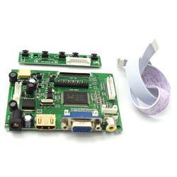 Hdmi vga 2AV LVDS ACC TTL Lcd kontroler wyświetlacza 50pin zestaw deska do 7 8 9 cal LCD monitora malinowy banana pi w Wyświetlacz projekcyjny od Samochody i motocykle na
