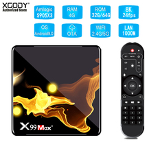 XGODY X99MAX S905X3 Wifi 4.1 Bluetooth TV Box 8k HD Quad Cor