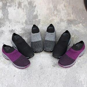Image 4 - Zapatillas Mujer Mới Dành Cho Nữ Tenis Feminino Sock Không Khí Giảm Chấn Thường Lưu Hóa Giày Scarpe Donna Iệu Damskie Size 35  42