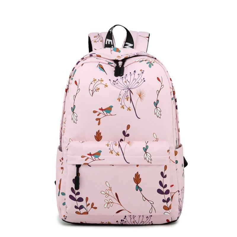 New Waterproof Polyester Backpack For School Teenagers Girls Boys Multifunction Women Travel Backpacks Female Bag Book Mochilas