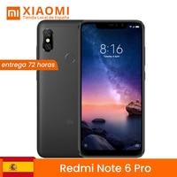 [Global version for Spain] Xiaomi Redmi Note 6 Pro (internal Memory 32 GB, 3 GB RAM, back Camera 12 MP + 5 MP