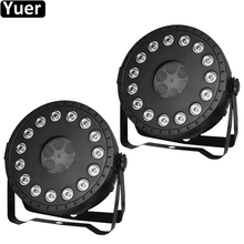 2Pcs/Lot 30W LED Wash Spot 2IN1 Par Light Strobe DMX512 Controller Party DJ Disco Bar Strobe Dimming Effect Projector Lights 2pcs lot high brightness king kong strobe 8p 200w led strobe dmx512 sound control party disco dj bar light show projector strobe