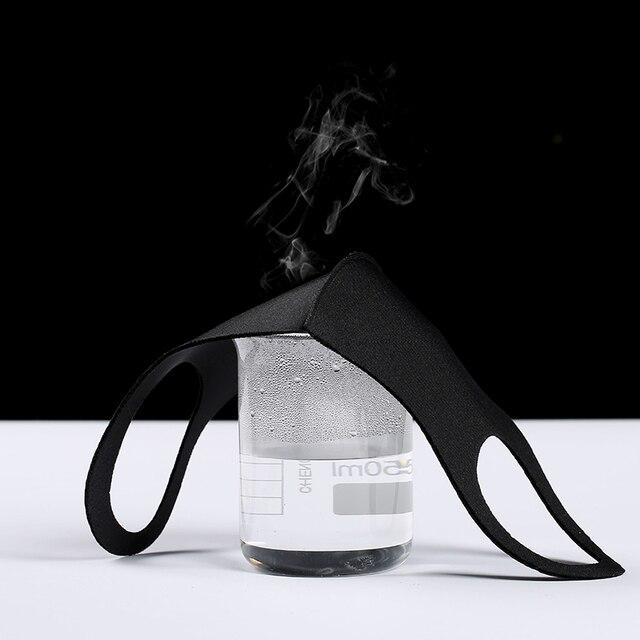 3PCS Reusable Mask Face Masks Care Face Washable PM 25 Anti-pollution flu Mouth Mask 3D Ice Silk Cotton Adult Mask 4
