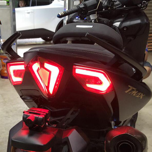 Image 5 - For 2012 2016 Yamaha T max Tmax 530 TMAX530 12 13 14 15 Motorcycle Front Turn Signals Light Rear Tail Brake Lamp LED Tail Light